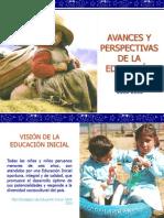Avances y Perspectivas de la Educación Inicial