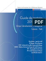 Guide Rentree 2013 2014 International
