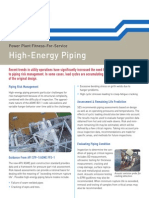 SES - High Energy Piping