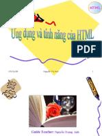 Ung Dung Va Tinh Nang Cua HTML