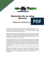 Fontanarrosa, Roberto - Memorias de Un Wing Derecho