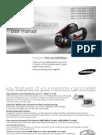 Samsung Camcordrer SMX-C10P User Manual