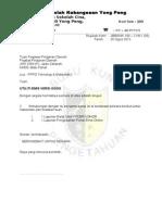 Contoh Surat Iringan Dokumen