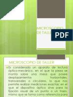 Microscopio de Tallernom