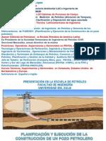 planificacion y ejecución de la construccion de un pozo petrolero