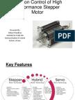 Position Control of Hybrid Stepper Motor