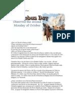 La Historia del Día de la Raza [Columbus Day]