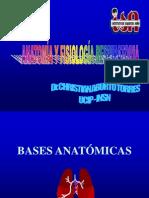 Anatomia y Fisiologia Respiratoria- Dr. Christian Aburto Torres