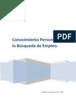 Conocimiento Personal en La Busqueda de Empleo