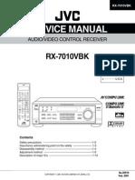 Service Manual JVC RX-7010vbk