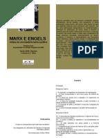Livro Marx Engels