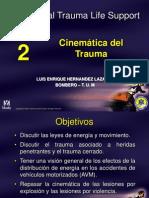 PHTLS5E2 Cinemática del Trauma