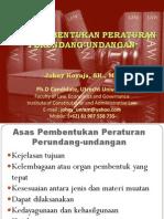 Asas Pembentukan Peraturan Perundang-undangan