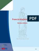 Bardosi Vilmos Francia Kiejtesiskola