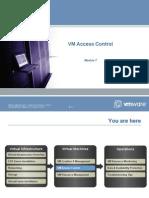 VI3 IC REV B - 07 Access Control