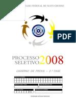2 Fase UFMT 2008
