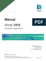 Manual Handset Curtis 1313 (13A)