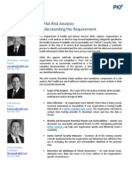 HIPPA Risk Analysis