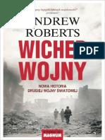 Wicher wojny. Nowa historia drugiej wojny światowej - Andrew Roberts - ebook