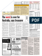Thesun 2009-07-22 Page14 the Worst is Over for Australia Says Treasurer