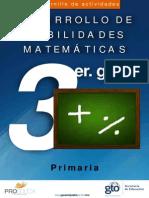 Cuadernillo Mat 3 Prim