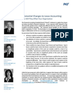 Substantial Changes to Lease Accounting