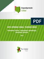 Expo Aprende Ceibal 2012 Librillo de Experiencias