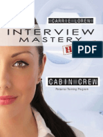 Sample pages from Interview Mastery | Cabin Crew