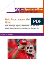 Linda Dulye Help Poor Leaders Get Really Good Presentation
