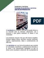 Estrategia de Productos y Servicios