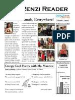 Renzi Newsletter  Fall Session I, 2013