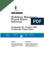 Modul Praktikum Manajemen Proyek Sistem Informasi Pertemuan 2