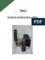 5. Circuitos CC y CA
