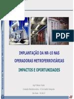 NR-10 e sua implantação-Metrô SP