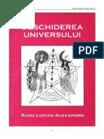 Deschiderea Universului - Radu Lucian Alexandru
