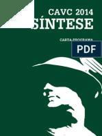 Síntese 2014 - Carta Programa