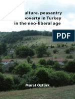 Agriculture, Peasantry and Poverty in Turkey in the Neo-liberal Age