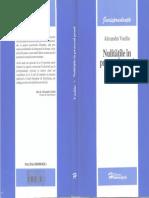 Nulităţile în procesul penal.Practică judiciară - Al.Vasiliu - 2006