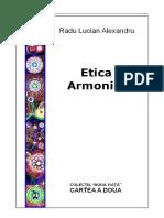Etica Armoniei - Radu Lucian Alexandru