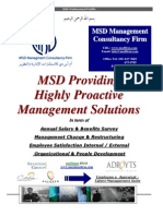 MSD Management Consultancy Firm Profile