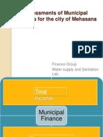 Assessments of Municipal Finances