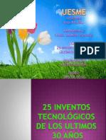 25 inventos