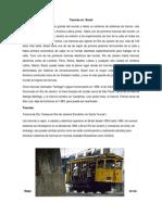 Tranvías en  Brasil