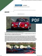 Ferrari 250 GTO, la voiture la plus chère du monde