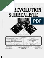 La Revolution Surrealiste 1-3 1924-1925