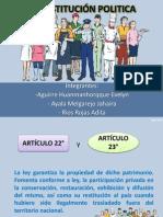 ARTÍCULO DEL 22° AL 29°