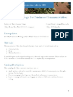 Fall 2013 BCOM 308 Syllabus