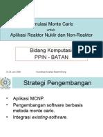 Aplikasi MC-Komp.BATAN