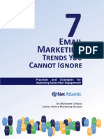 7 Email Marketing Trends You Cannot Ignore NetAtlantic 2012