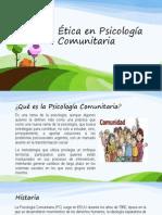 Ética en Psicología Comunitaria